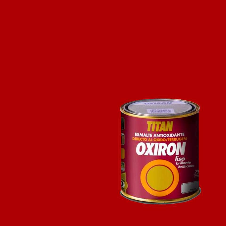 Titan oxiron esmalte...
