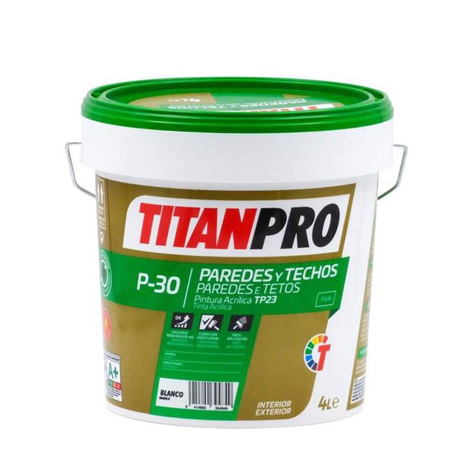 Titan tinta plástic...