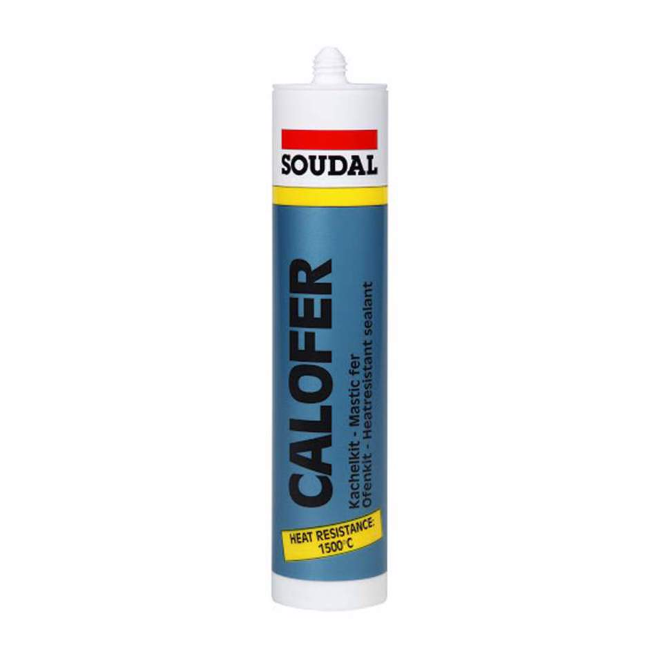 SOUDAL-CALOFER MASTIQUE REFRATARIO 1500° 310ml