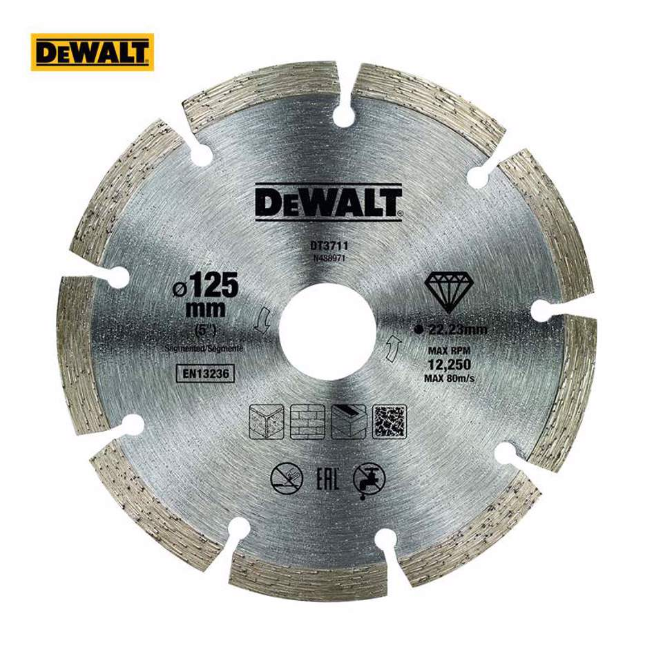 Dewalt DT3711-QZ com disco de diamante 125 x 22,2 mm