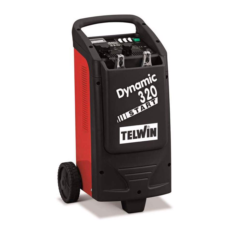 Carregador / Arrancador De Baterias Telwin Dynamic 320 Start