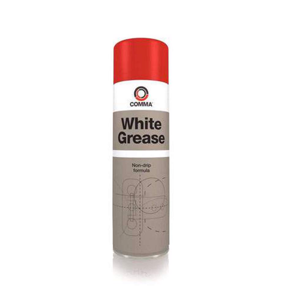 Massa de Lithium em Spray - COMMA WHITE GREASE