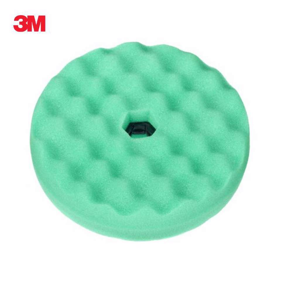 3M™ PERFECT-IT™ Boina de polimento verde dupla face e conexão rápida, 150 MM, PN50878
